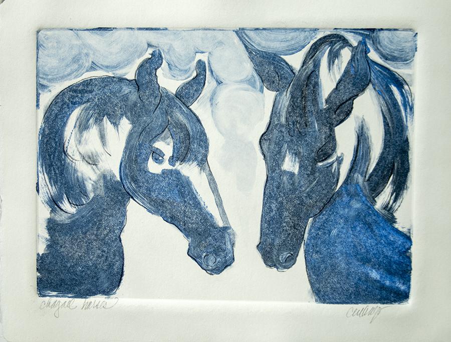 Horses, Chagall