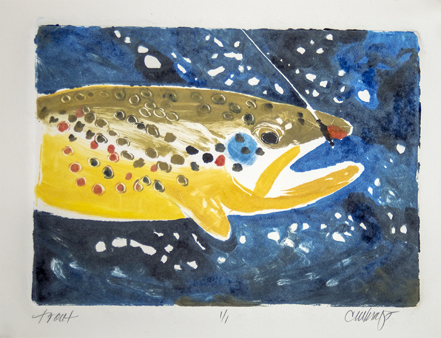 Trout, fishing
